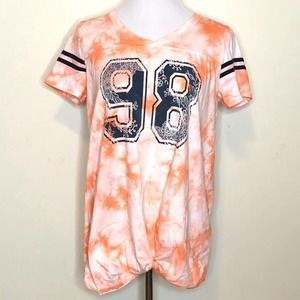 Cato Knotted Tie-dye Shirt